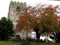Clock Tower of St Cynfarch's Church