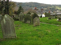 View from the grave yard at Hope Church