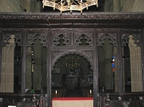 15th Century carved screen at All Saint's Church