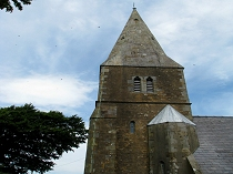 Llangaffo Church tower