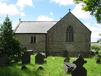 Chancel and south chapel  St Mary's Church Pentraeth