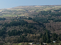 View across the Crafnant Valley
