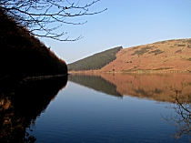Reflections on Lake Geirionydd