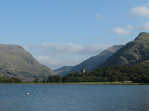 Llanberis Pass and Dolbadarn Castle, Llanberis