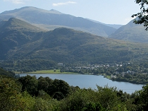 The village of Llanberis