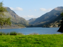Llyn Peris and the Llanberis Pass