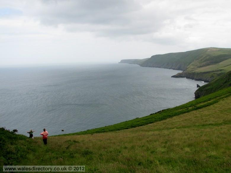Enlarged picture of Panoramic View of Cardigan Bay