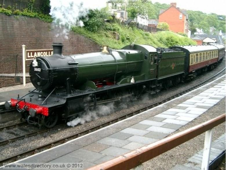 Enlarged picture of Llangollen Steam Engine