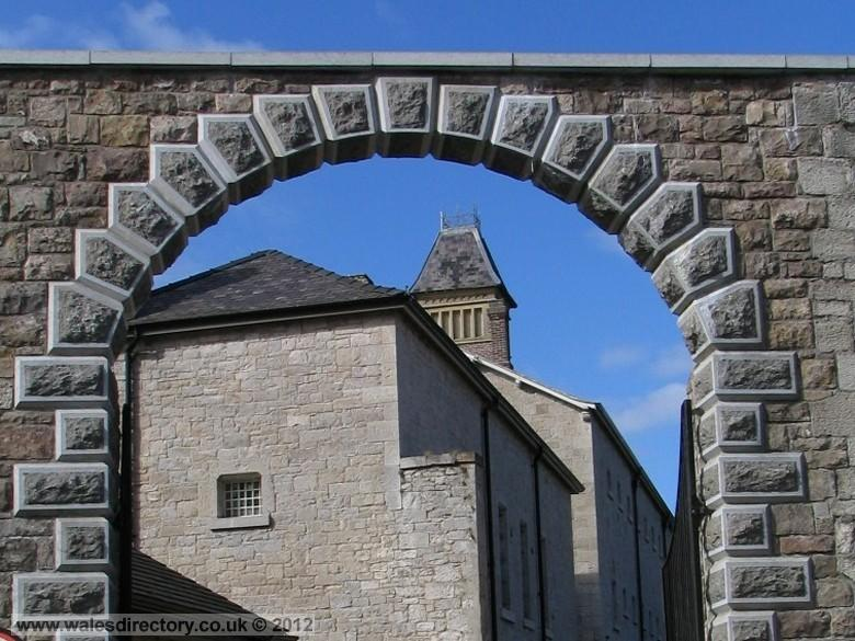 Enlarged picture of Gateway to Ruthin Jail