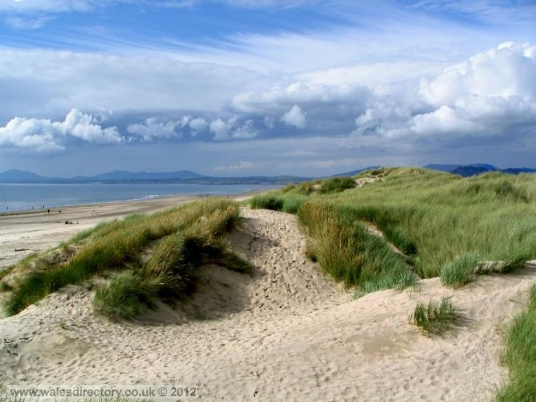 Enlarged picture of Harlech Beach
