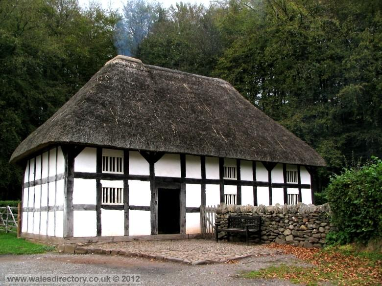 Enlarged picture of Timber Framed Welsh House at St Fagans
