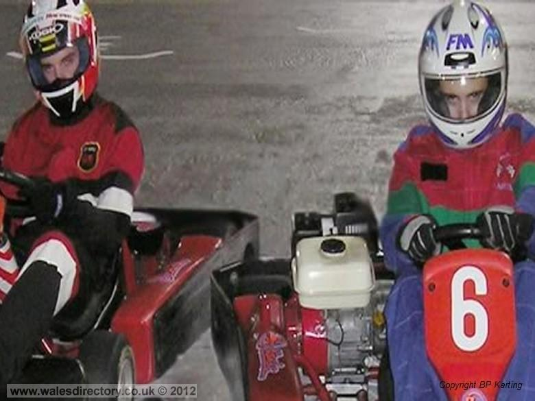 Enlarged picture of Go Karting in Pembrokeshire