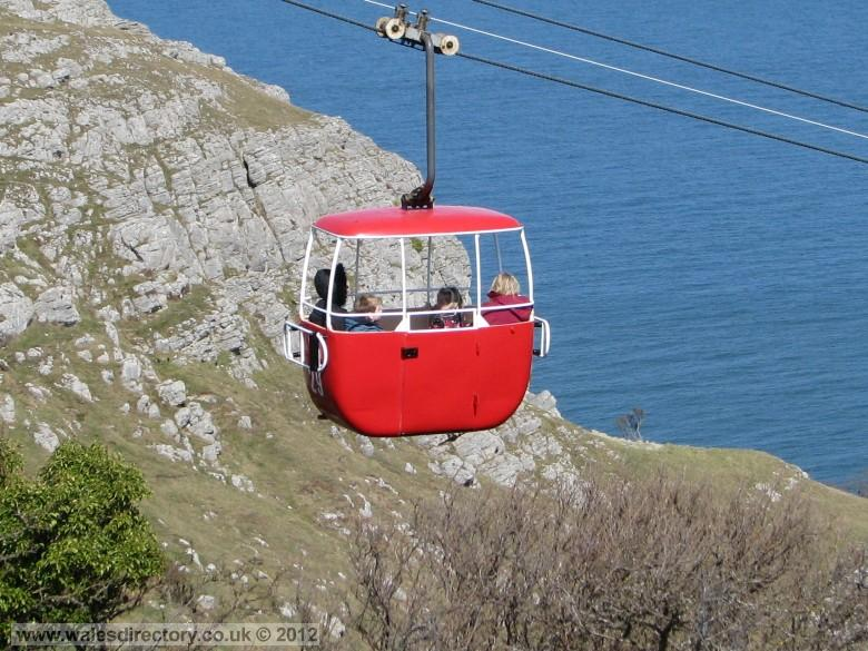 Enlarged picture of Llandudno Cable Car