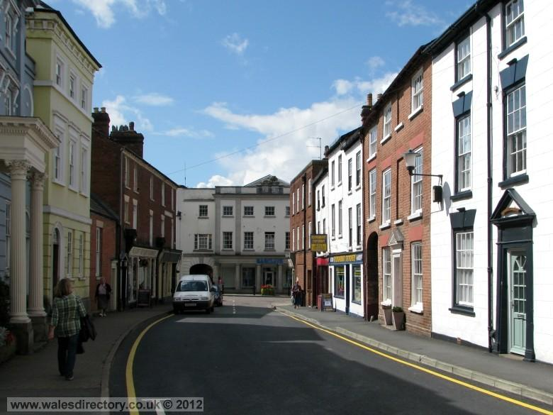 Enlarged picture of Church Street Leominster