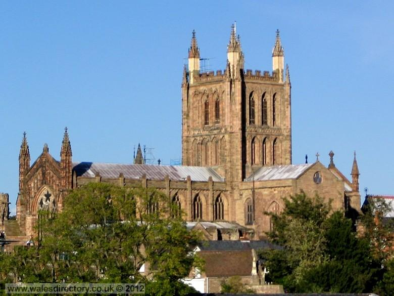 Enlarged picture of Hereford Cathedral