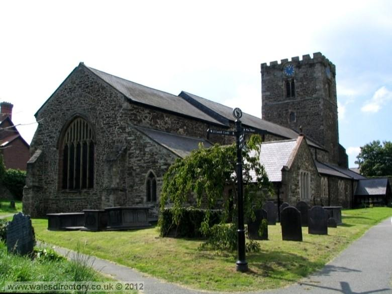 Enlarged picture of St Mary's Parish Church Conwy