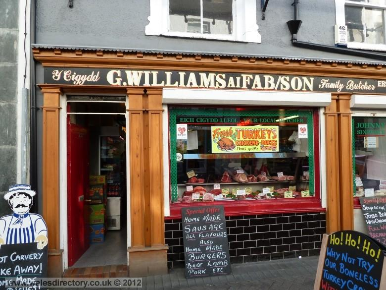 Enlarged picture of Butchers in Bangor
