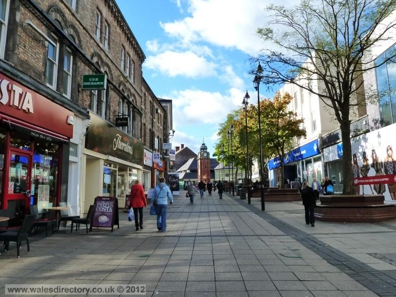 Enlarged picture of Bangor High Street