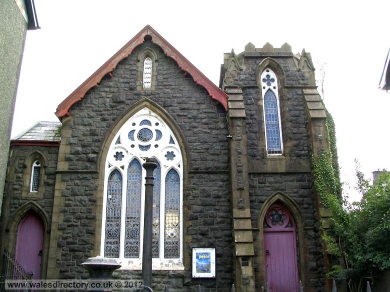Enlarged picture of English Presbyterian Church Machynlleth