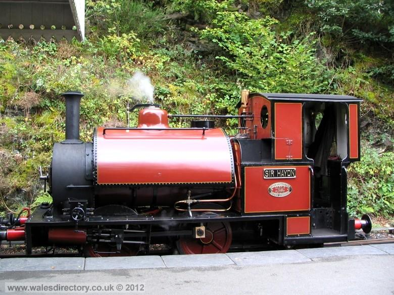 Enlarged picture of Talyllyn Railway Engine