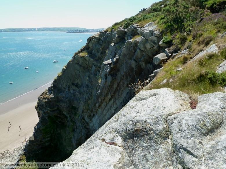 Enlarged picture of Llanbedrog Geology