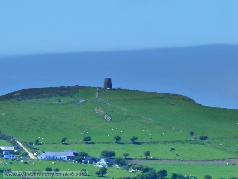 Enlarged picture of Jampot on Foel Twr