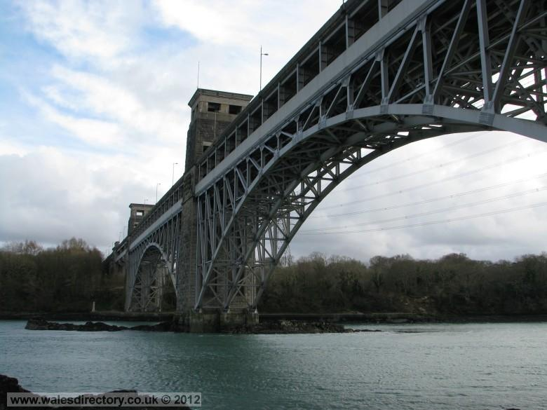 Enlarged picture of Britannia Bridge