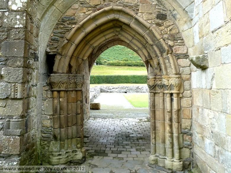 Enlarged Picture Of Gothic Archway