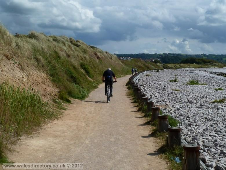 Enlarged picture of Conwy Estuary - North Wales Cycle Path