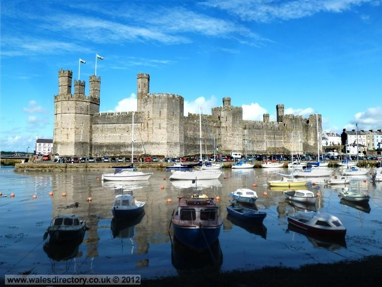 Enlarged picture of Caernarfon Castle