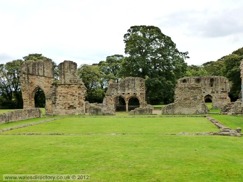 Enlarged picture of Basingwerk Abbey