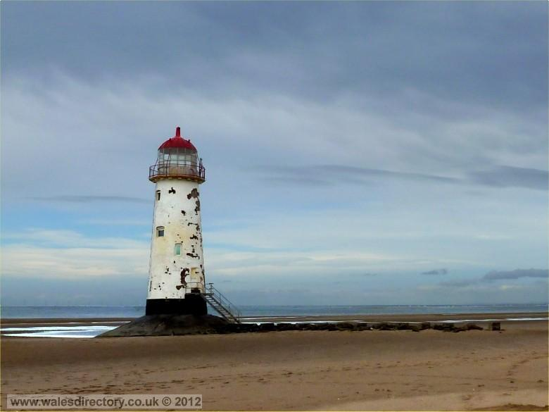 Enlarged picture of Point of Ayr Lighthouse
