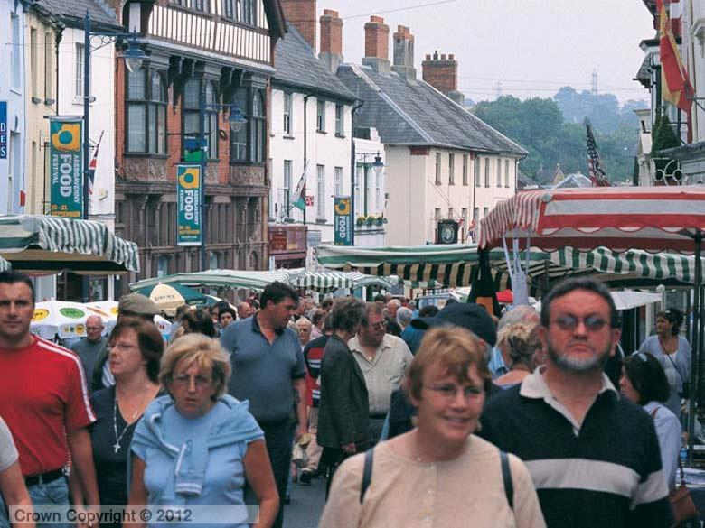 Enlarged picture of Abergavenny Food Festival Streetview