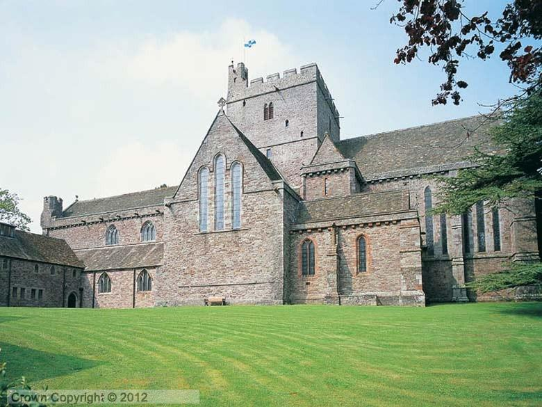 Enlarged picture of Brecon Cathedral Tower