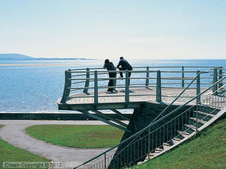 Enlarged picture of Viewpoint  Millennium Coastal Path