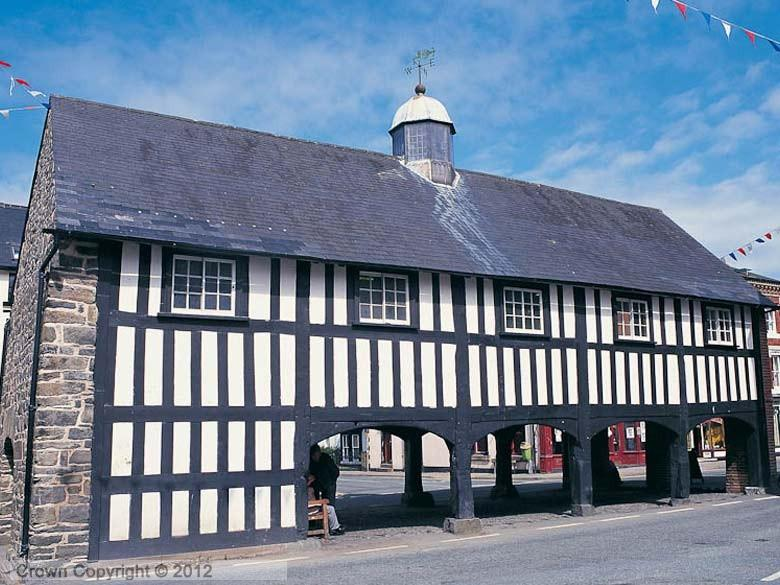 Enlarged picture of Llanidloes Market Hall
