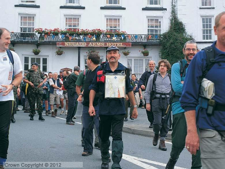 Enlarged picture of Walkers in Llanwrtyd Wells