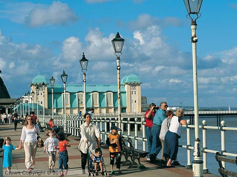 Enlarged picture of Penarth Pier