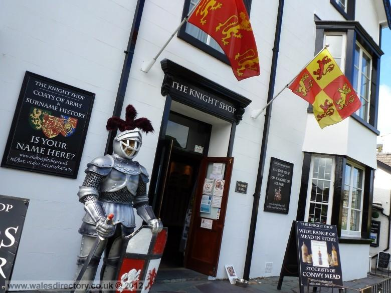 Enlarged picture of Knights Shop Conwy