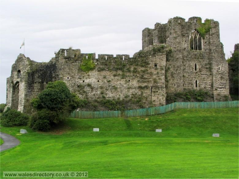 Enlarged picture of Oystermouth Castle