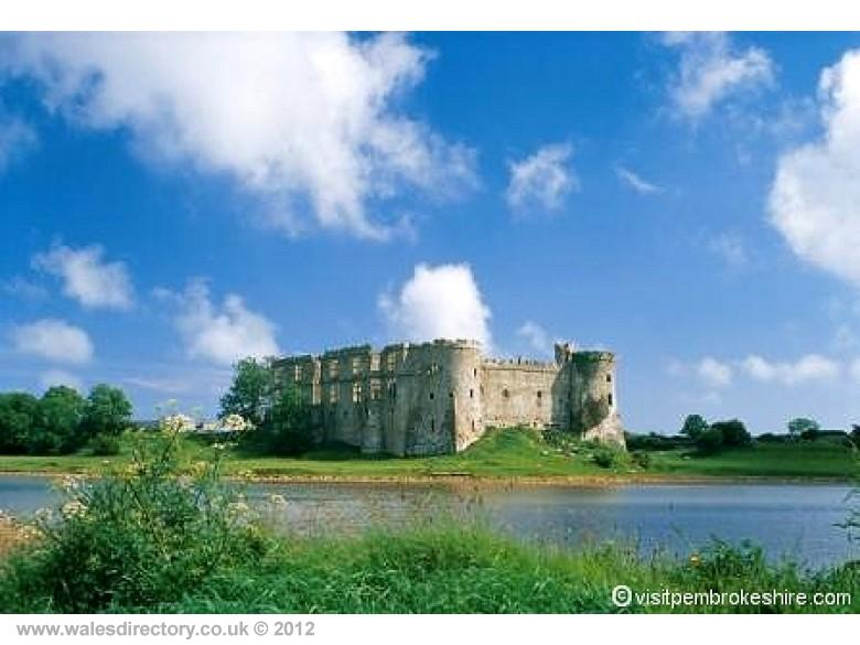 Enlarged picture of Carew Castle