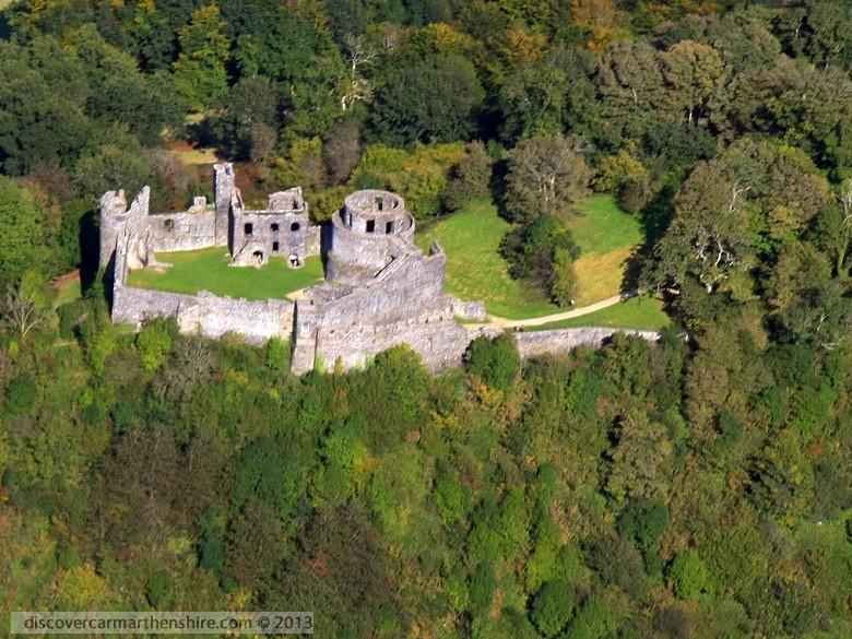 Enlarged picture of Dinefwr Castle