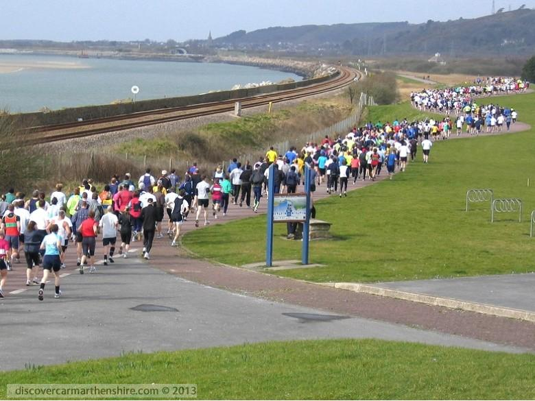 Enlarged picture of Llanelli Half Marathon