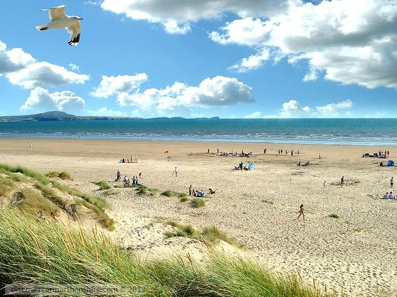 Enlarged picture of Sand Dunes on Cefn Sidan Sands