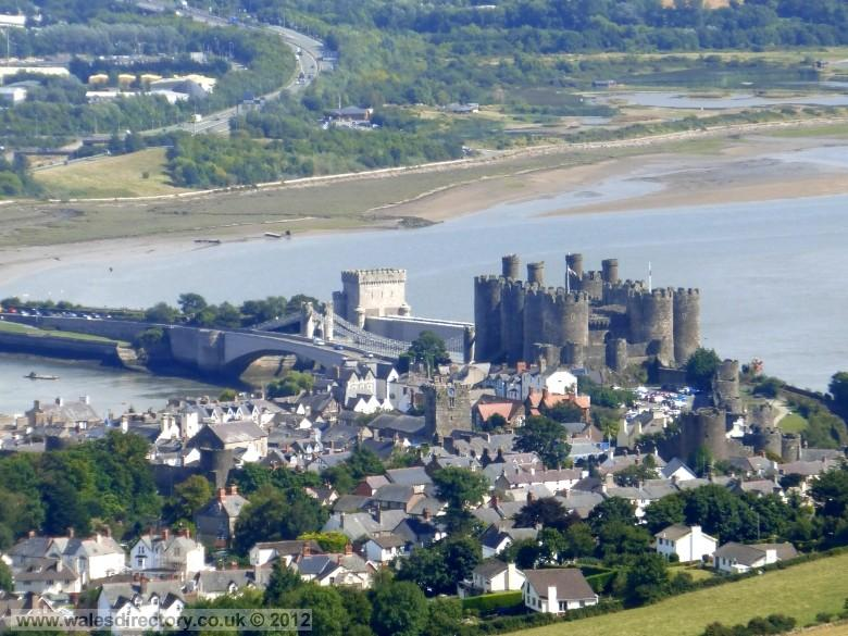 Enlarged picture of Conwy Castle