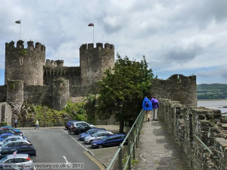 Enlarged picture of Conwy Castle and Town Walls Walk