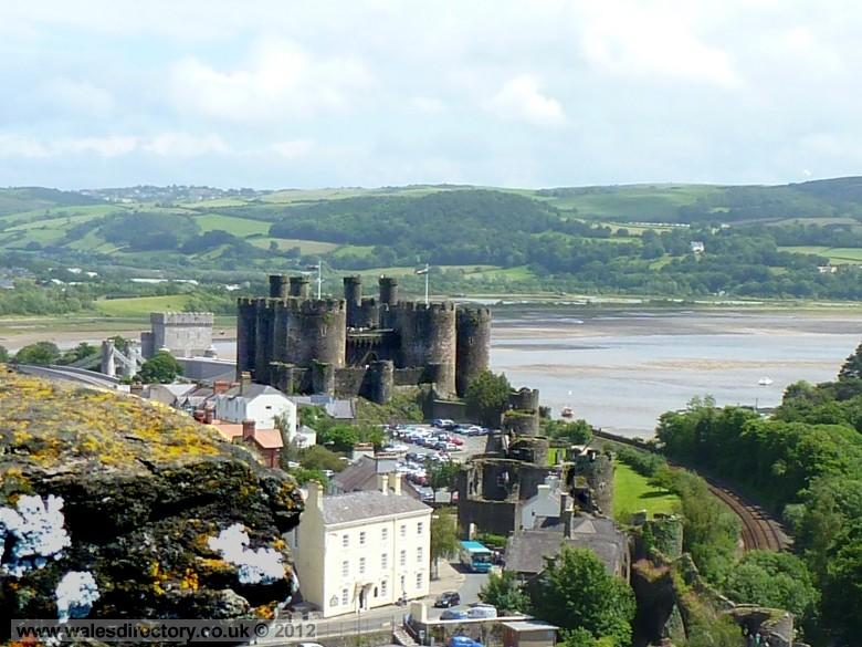 Enlarged picture of View From the Watchtower Conwy