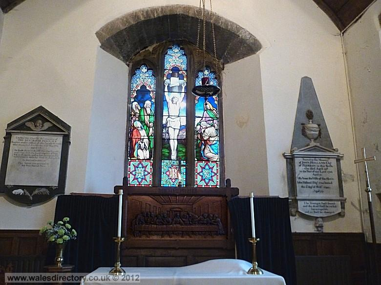 Enlarged picture of Saint Elians Church Chancel