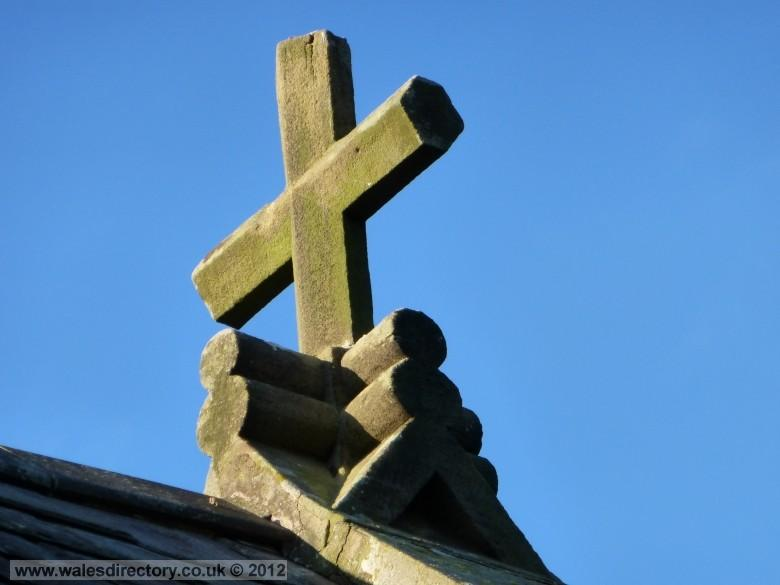 Enlarged picture of Finial on Saint Benedicts Church, Conwy, North Wales