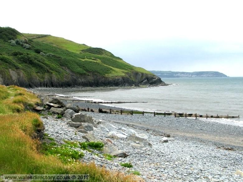 Enlarged picture of Aberaeron Beach